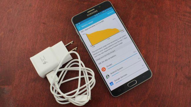 Быстрая зарядка Samsung Galaxy Note 5