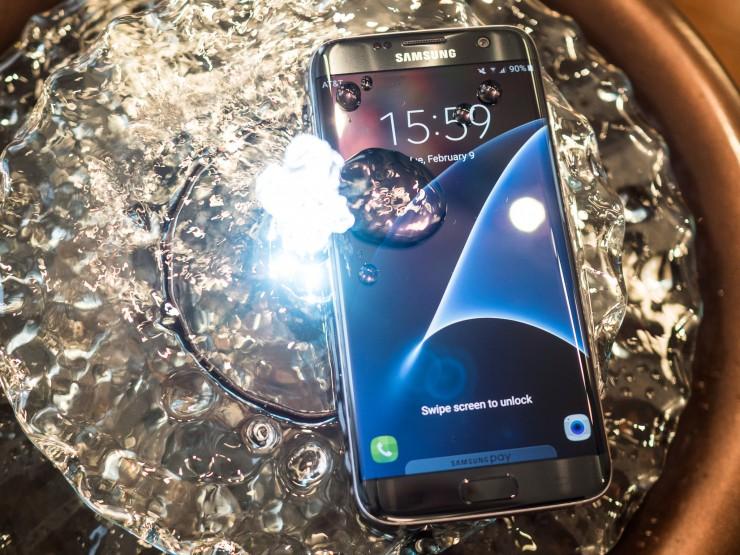 Водонепроницаемый Samsung Galaxy S7 Edge