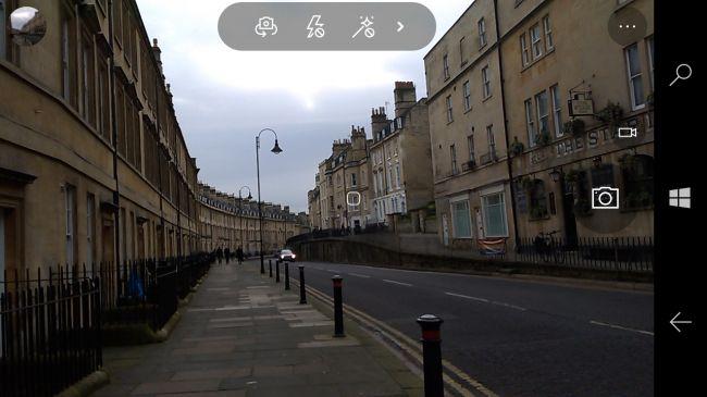 Интерфейс камеры Lumia 550. Обзор