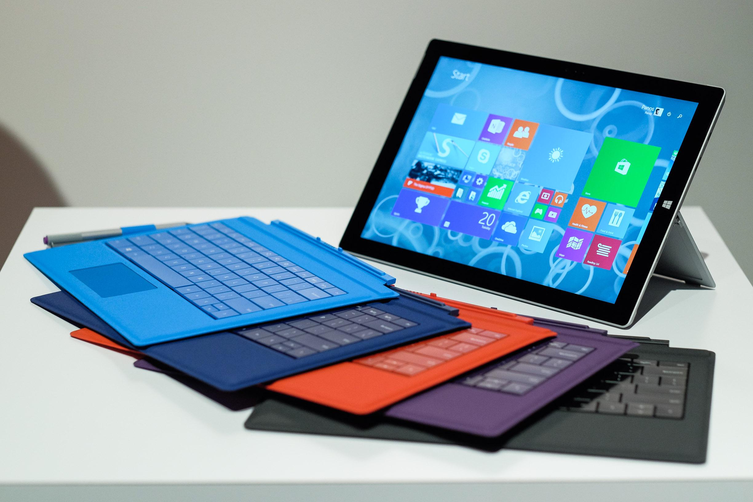 Лучший планшет 2016 - Microsoft Surface Pro 3