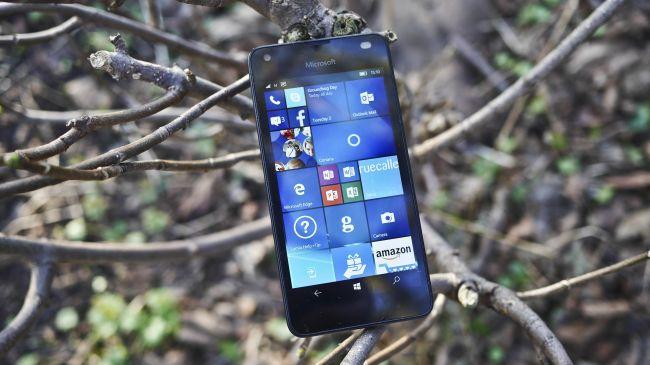 Обзор смартфона Microsoft Lumia 550