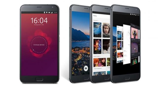 Смартфон Meizu Pro 5 на Ubuntu