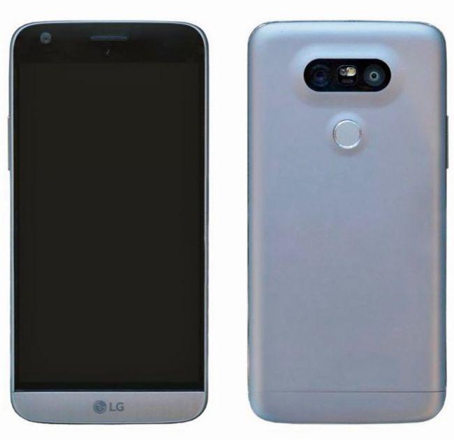 Финальный дизайн LG G5