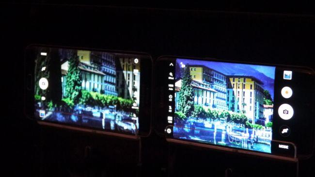 Фотография в плохом освещении Samsung Galaxy S7