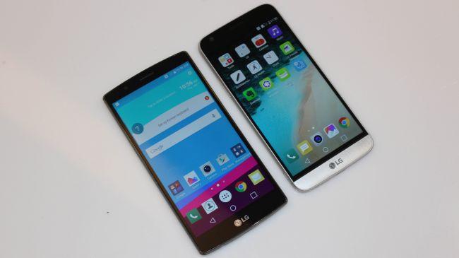 Характеристики LG G5 и LG G4