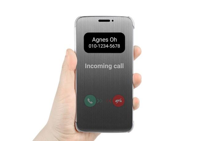 Чехол Quick Cover для смартфона LG G5