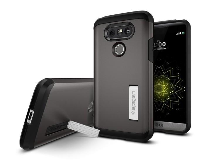 Чехол-подставка Spigen Tough Armor Kickstand Case для LG G5