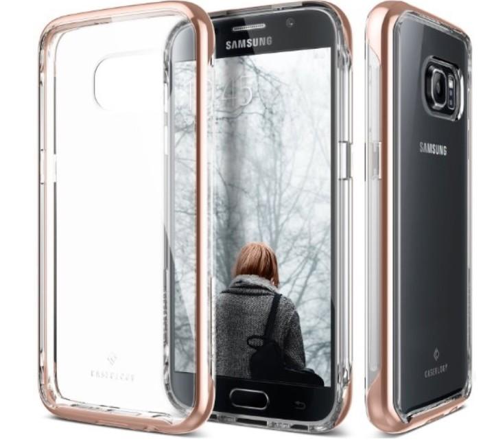 Чехол Caseology SkyFall Clear для Galaxy S7