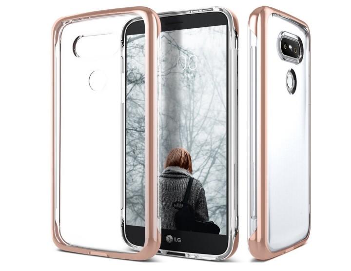Чехол Caseology SkyFall Clear для LG G5