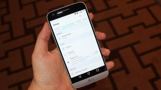 Android Marshmallow на LG G5
