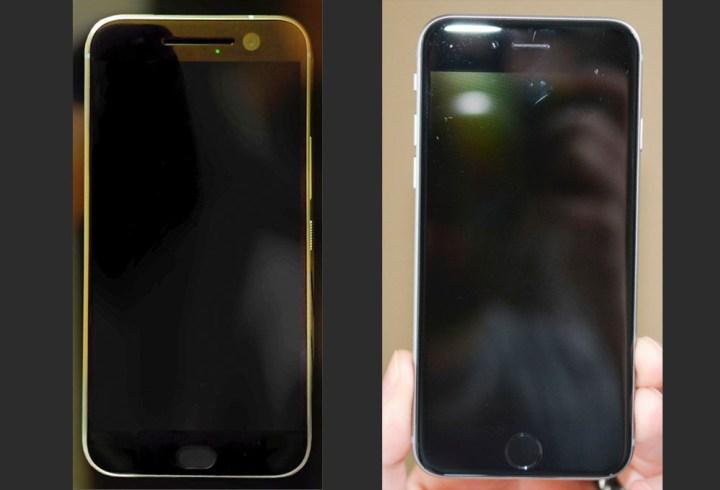 HTC One M10 - клон iPhone