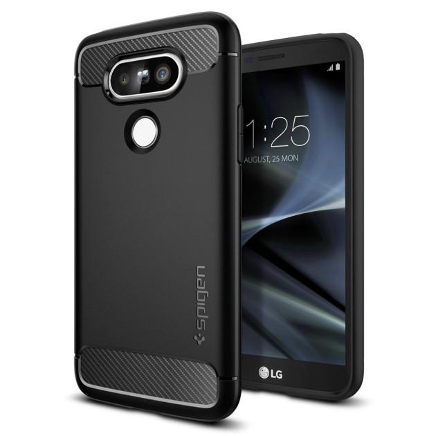 LG G5 в чехле