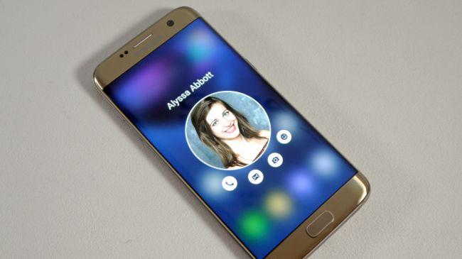 MWC 2016. Samsung Galaxy S7 Edge
