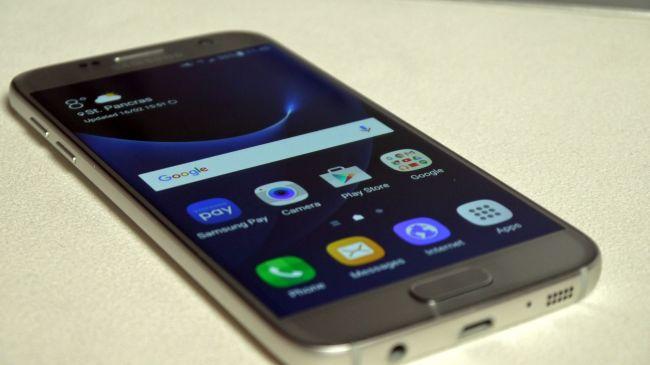 MWC 2016. Samsung Galaxy S7