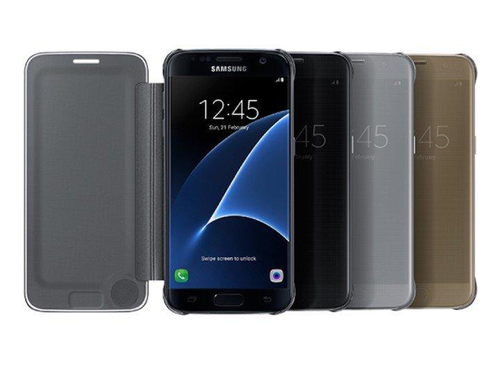 S-View Flip Cover на Galaxy S7