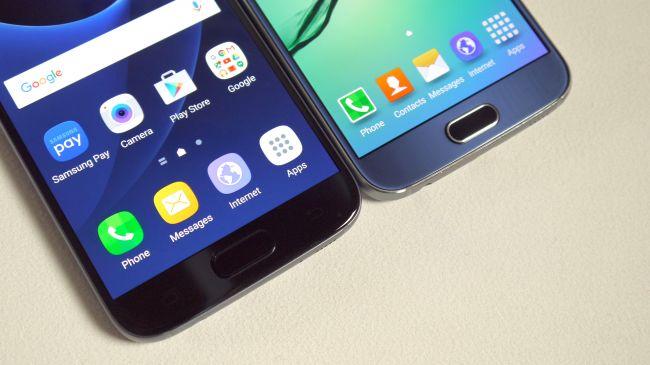 Samsung Galaxy S7 и Samsung Galaxy S6