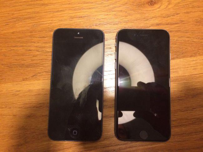 iPhone 5SE и iPhone 5