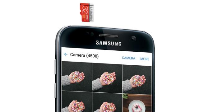 Samsung Galaxy S7 и MicroSD