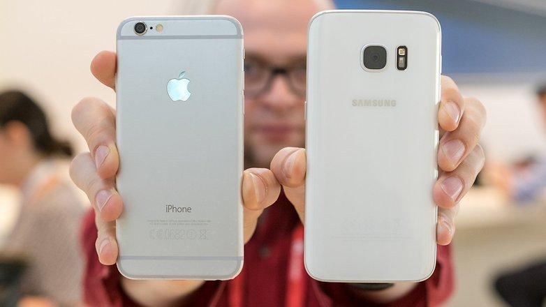 Samsung Galaxy S7 против iPhone 6S