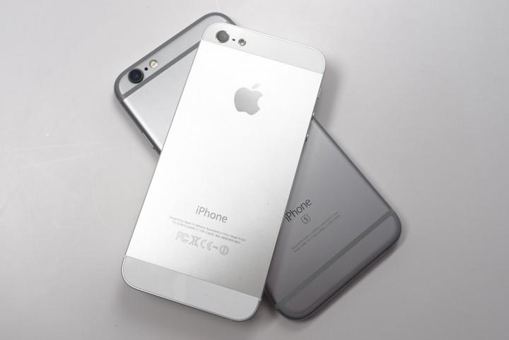 iPhone 6S против iPhone SE