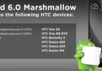 Обновление Android 6.0 Marshmallow для HTC One M8 и One M9