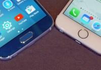 Сравнение Samsung Galaxy S6 и iPhone 6. Борьба старших